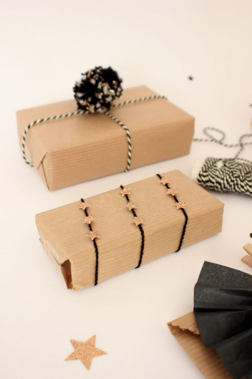 simple wrapping toppers (via lilyallsorts)
