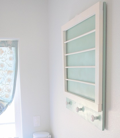 Diy Laundry Wall Rack