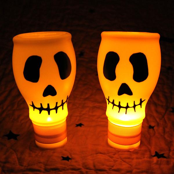 Diy Lighted Skulls
