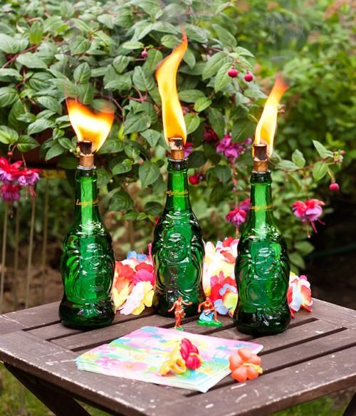 Diy Lucky Buddha Tiki Torch
