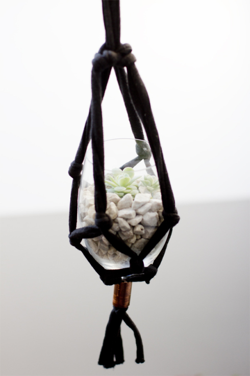 DIY Macrame Hanging Pot