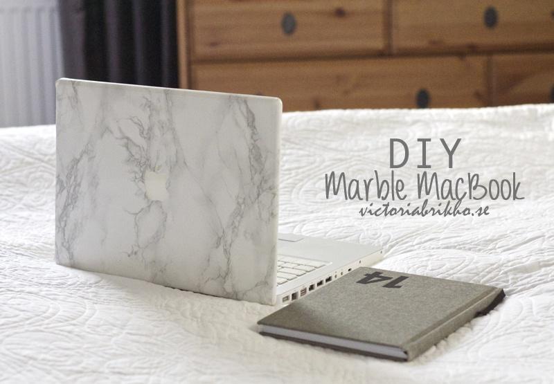 Diy Marble Laptop Decoratin