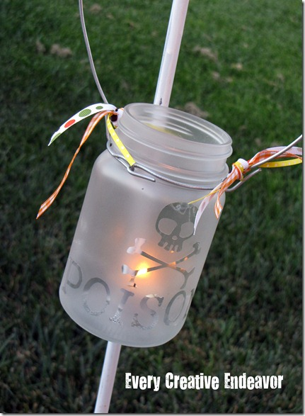 Diy Mason Jar Halloween Lanterns