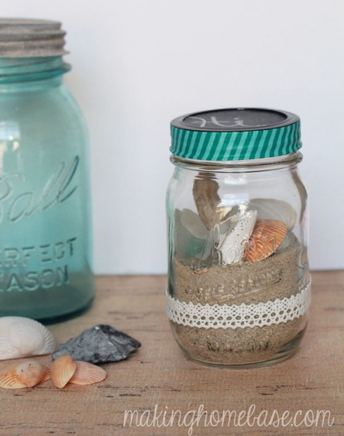 28 Diy Mason Jars Home D 233 Cor Ideas Shelterness