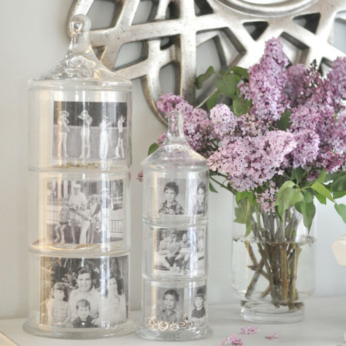 Diy Memory Jars As Mother's Day Gift