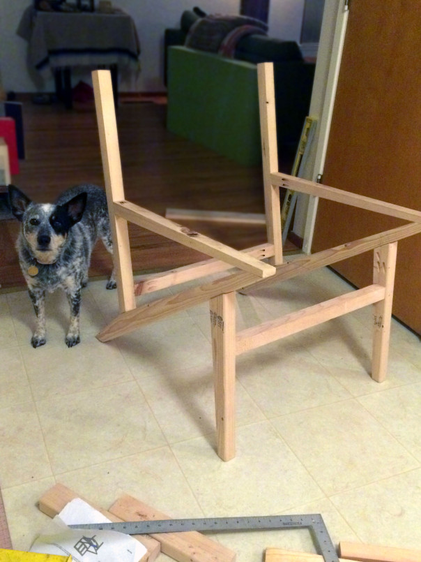 Picture Of diy mid century modern side chair  3