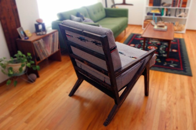 Picture Of diy mid century modern side chair  5