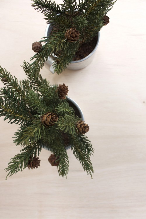 Diy Mini Christmas Trees