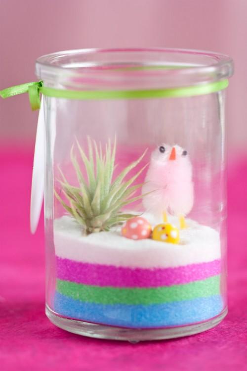 Diy Mini Easter Terrariums