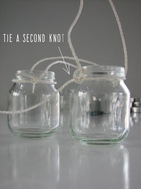 DIY Mini Lanterns For Christmas Decor