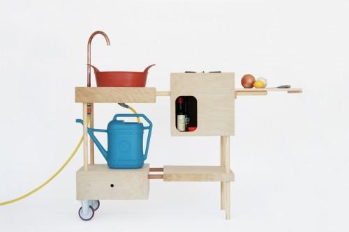 Diy Mobile Outdoor Kitchen