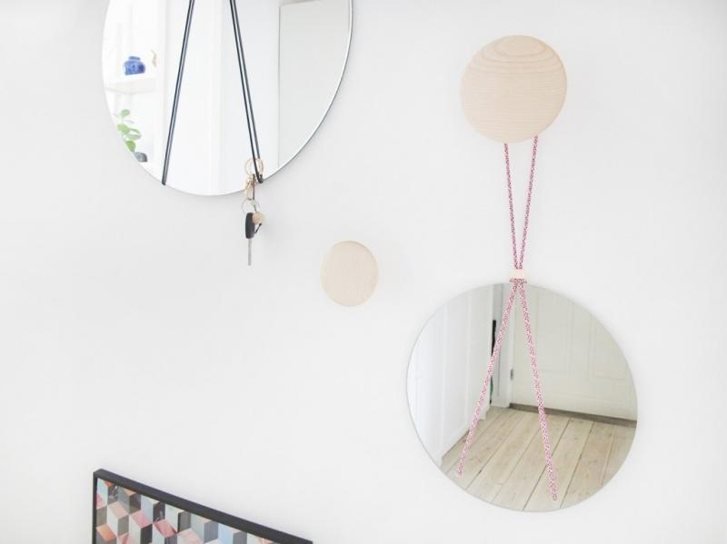 modern rope mirror