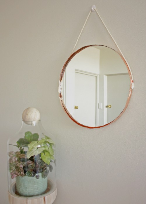 copper edge mirror (via makerssociety)