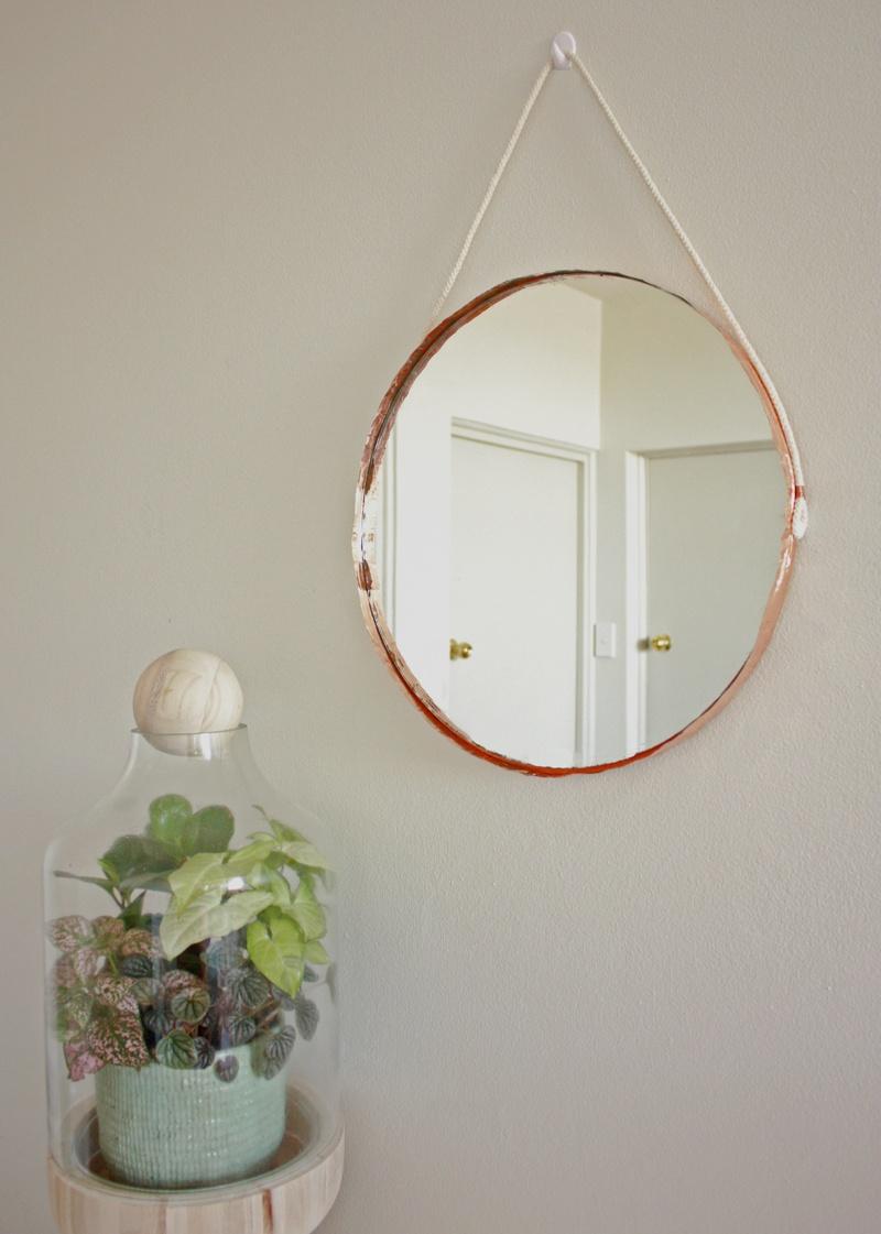 copper edge mirror
