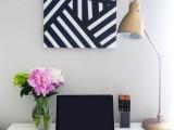 diy-modern-black-andwhite-abstract-art-1