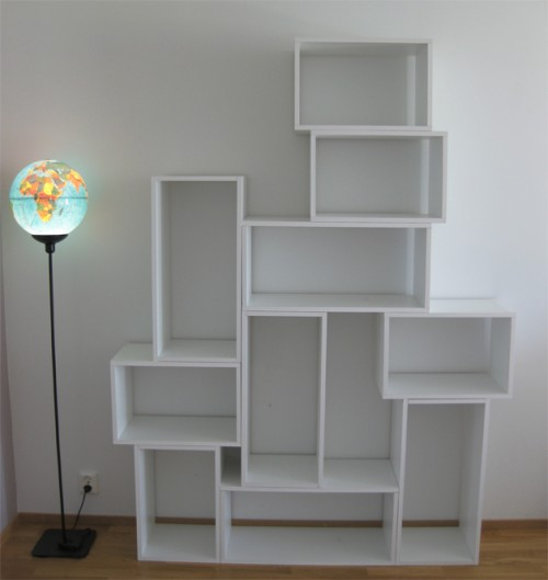Diy modern and practical shelf system shelterness - Etagere invisible ikea ...