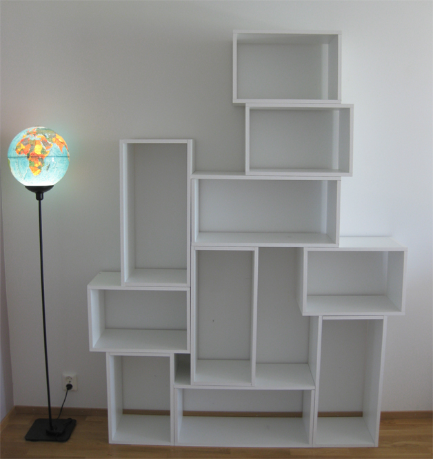 Picture of diy modern bookcase - Modern bookshelf plans ...