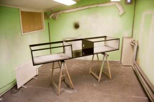 Diy Modern Media Cabinet