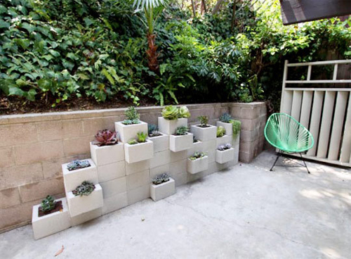 Diy Modern Outdoor Planter Wall