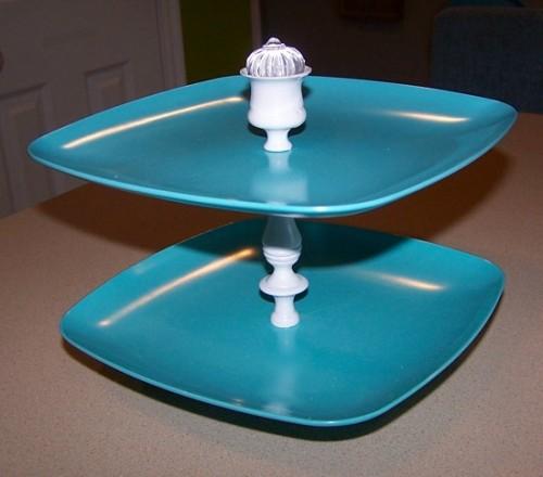 Diy Modern Tiered Cupcake Stand