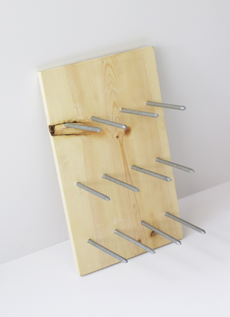 Picture Of diy modern wine rack that doubles as decor  4
