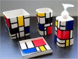 Diy Mondrian Style Bathroom Kit