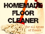 mopping solution for all floor types