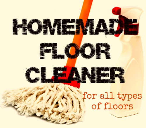 mopping solution for all floor types (via housewifehowtos)