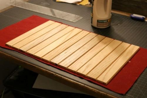 DIY Multi Purpose Wood Roll Up Tray