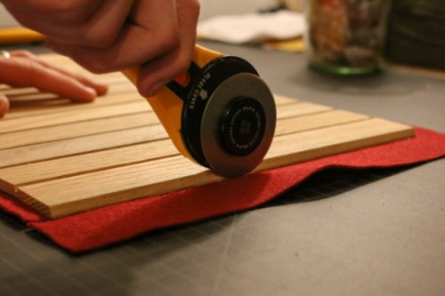 DIY Multi Purpose Wood Roll Up Tray