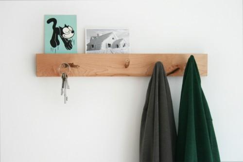 Diy Natural Coat Hanger