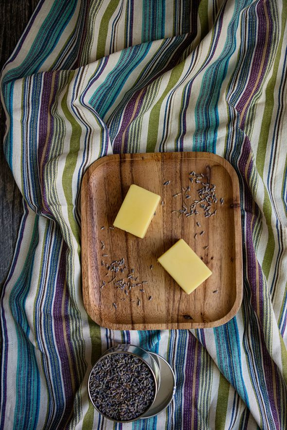 Diy Natural Lavender Lotion Bars