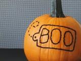 stitched pumpkin