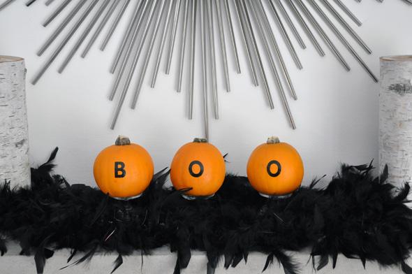 1 minute pumpkin decor