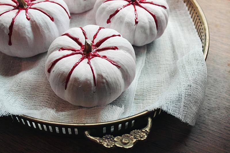 bloody mini pumpkins
