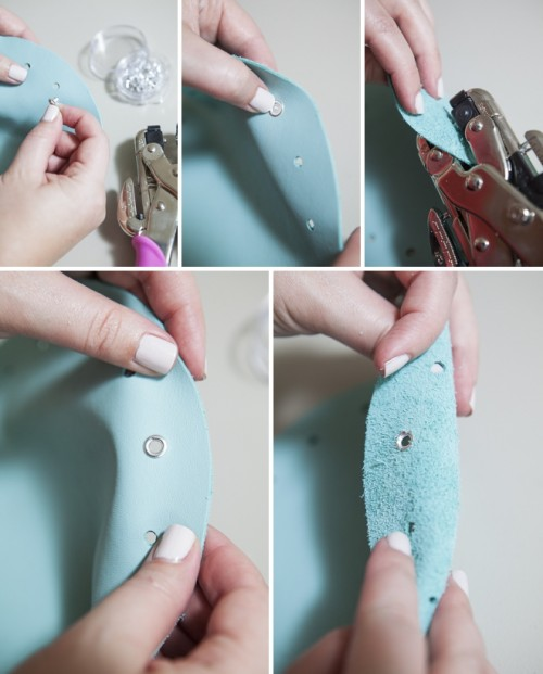 Diy No Sew Jewelry Leather Pouch