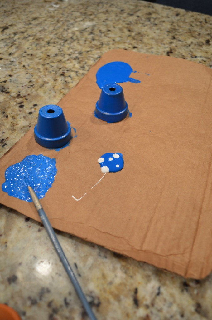 Picture Of diy ombre wind chimes from clay pots  2