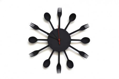 Modern And Original DIY Kitchen Clock