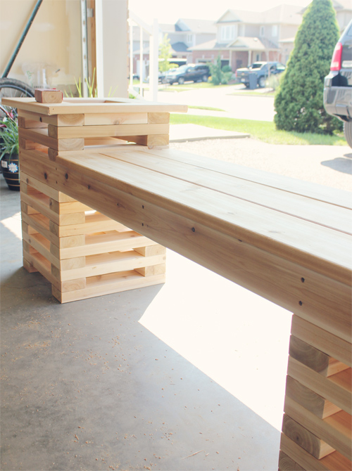 Pallet Furniture Outdoor Planter