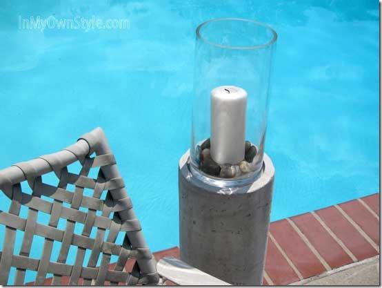 Diy Outdoor Concrete Fire Columns