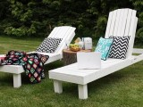 classic outdoor loungers