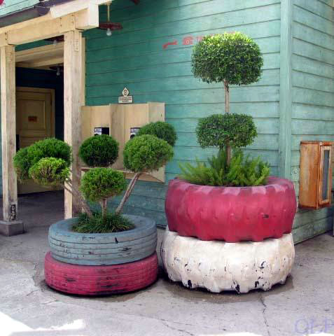 How To Recycle Old Tires – 5 Cool DIY Projects