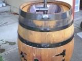 Diy Outdoor Sink Of An Old Wine Barrel