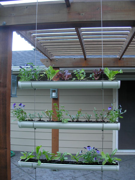 Diy Outdoor Vertical Garden
