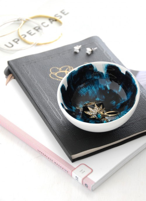 Diy Painted Mini Bowls For Jewelry