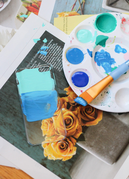 Diy Painterly Phone Case