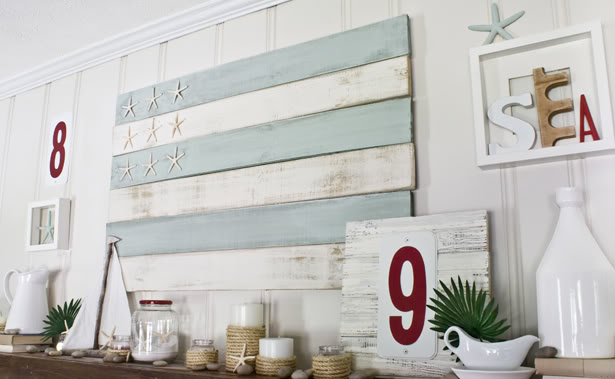 Diy Pallet Art | Shelterness