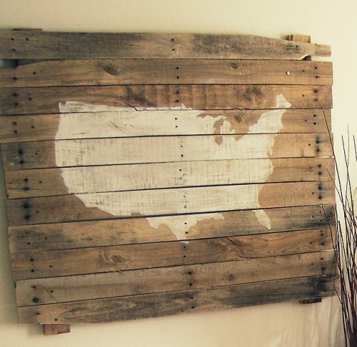 20 Cool Diy Pallet Art Projects Shelterness