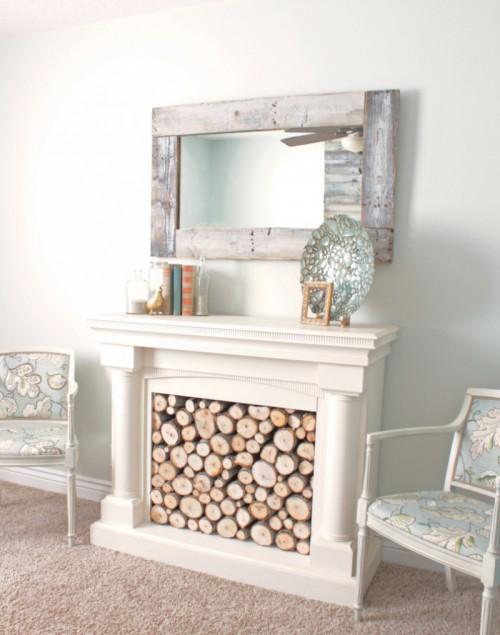 DIY Pallet Wall Mirror