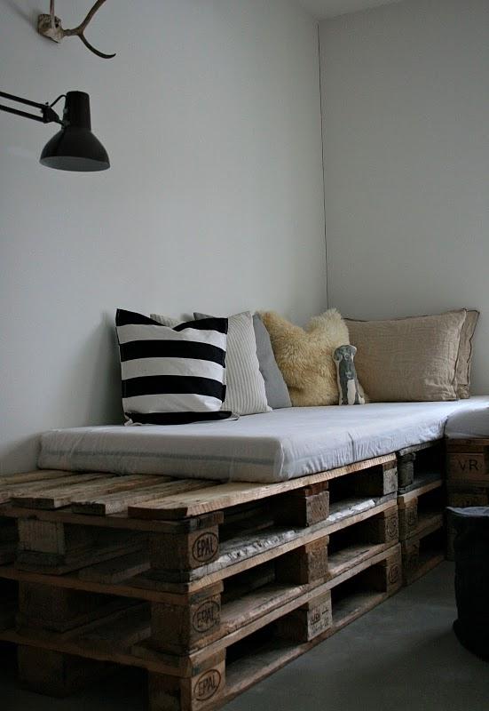 Diy Pallet Sofa